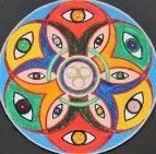 Nicht alle Augen sehen alles ... Encaustic & Acrylfarbe