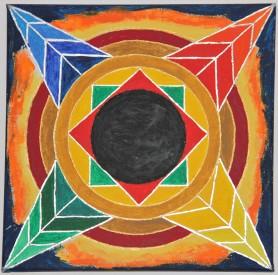 mandala-mit-schwarzem-zentrum-30x30-cm-leinwand-acrylfarbe-encaustic-huggl-2016